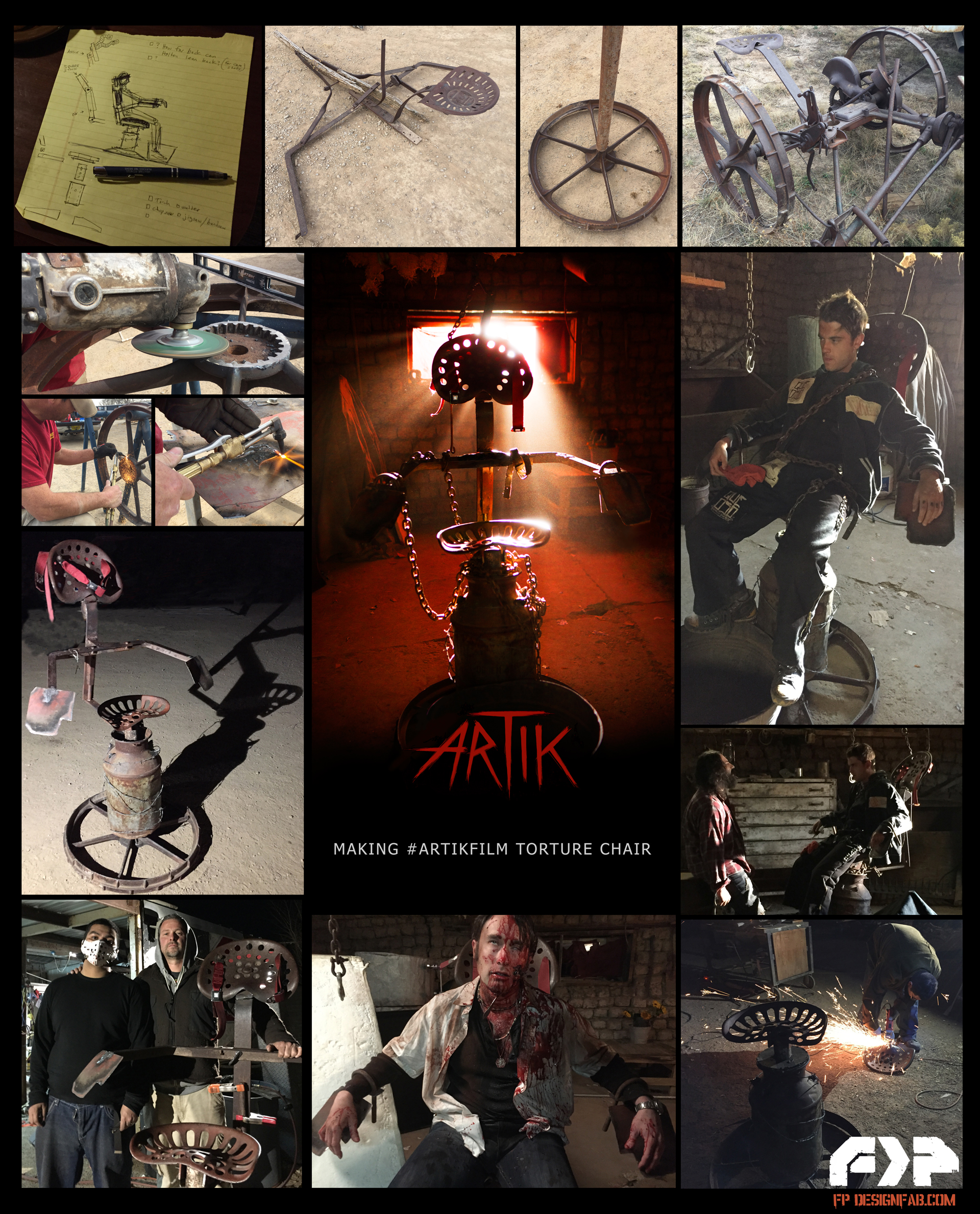 ARTIKFILM Chair Poster